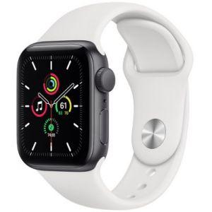 Apple Watch SE 44MM Alu Argent/Blanc - Montre connectée