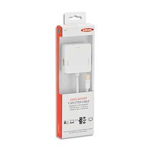 Ednet 84511 - Splitter miniDP vers DP+HDMI+DV