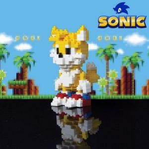 Paladone Briques Pixel Tails le Renard - Jeu de construction Sonic The Hedgehog