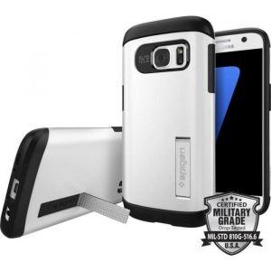 Spigen Galaxy S7 Slim Armor Case - Metal Slate