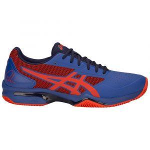 Asics Baskets Gel Lima Padel 2 Blue / Fiery Red - Taille EU 41 1/2