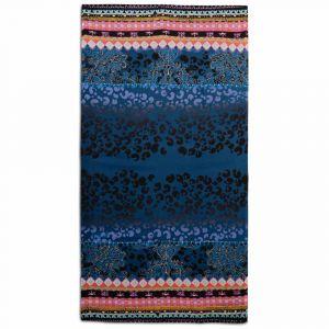 Desigual Foulard Jazmine à imprimé ornemental tons Bleu