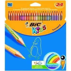 Bic Etui de 24 crayons de couleur Tropicolors 2