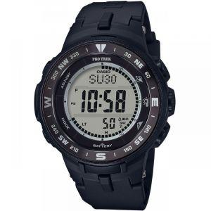Casio PRO TREK PRW-6600Y-1ER Watch Men, black/silver /black Montres triathlon