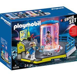 Playmobil 70009 SuperSet Agents de l'espace* Bleu