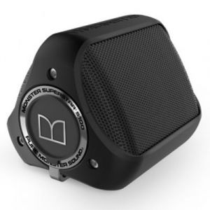 Monster Cable Monster S100 Noir - Enceinte portable sans fil Bluetooth étanche