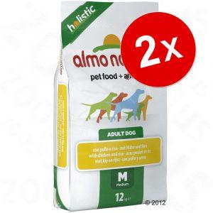 Almo Nature Holistic Large Dog - Poulet et Riz 12 kg
