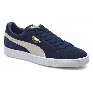 Puma Suede Classic chaussures peacoat white 46,0 EU