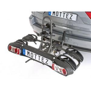 Mottez Porte-vélos d'attelage plate-forme Platinium A023P2ELEC pour 2 vélos électriq