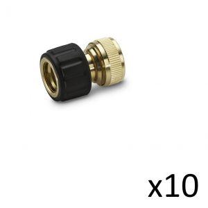 Kärcher Kit de 10 Raccords laiton 13-15mm - 2.645-015.0