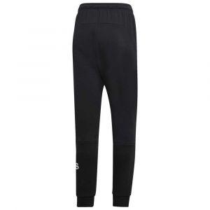 Adidas MH BOS PNT FT Pantalon Homme, Noir/Blanc, FR : L (Taille Fabricant : L)