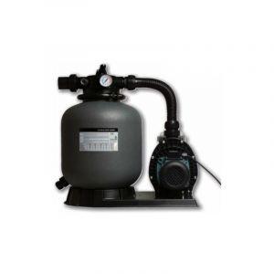 Filtration piscine hors sol S : Filtre a sable + pompe 6 m3/h