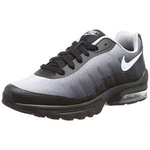 Nike Air Max Invigor Print (GS), Chaussures de Running Compétition garçon, Noir (Black/White-Wolf GRE 001), 37.5 EU