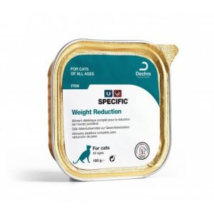 Specific Chat Weight Reduction ref:frw Aliment Humide barquette de 100g