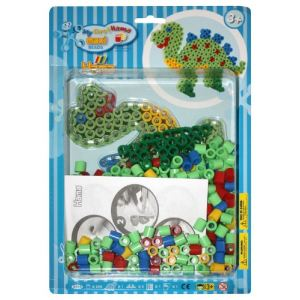 Hama Boîte de perles à repasser : Dinosaure