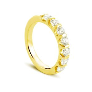 Rêve de diamants 3612030083433 - Bague en or jaune sertie de diamants