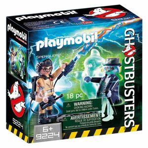 Playmobil 9224 - Ghostbusters : Spengler et fantôme