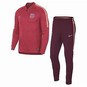 Nike Survêtement de football FC Barcelona Dri-FIT Squad pour Enfant plus âgé - Rose - Taille XL