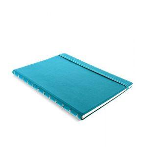 Filofax 115027 Carnet de note A4 avec feuille repositionnable Aquamarine