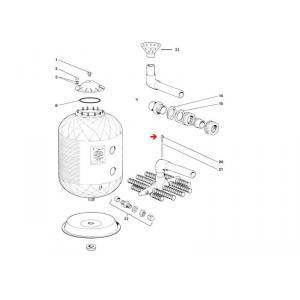 Procopi 336005 - Crépine d'air de filtre Lacron