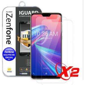 Ibroz Protège écran ZenFone Max ProM2 Verre trempé x2
