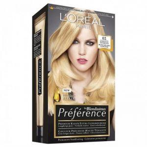 Boss Effect Préférence Infinia Blondes 02 Blond Très Très Clair Doré