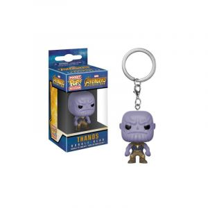 Funko Porte clé Marvel Infinity War Thanos Pocket Pop 4 cm