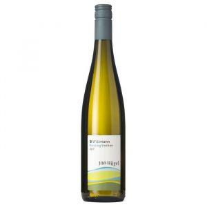 Wittmann 100 Hügel Trocken - Vin blanc bio d'Allemagne - Bouteille 75cl - 2016