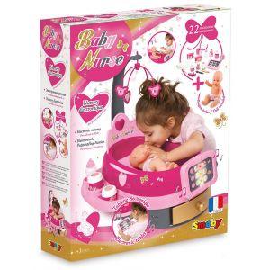 Smoby Nursery électronique Baby Nurse avec poupon