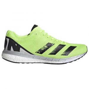 Adidas Adizero Boston 8 M, Chaussures de Running Compétition Homme, Signal Green/Core Black/Grey One F17, 44 EU