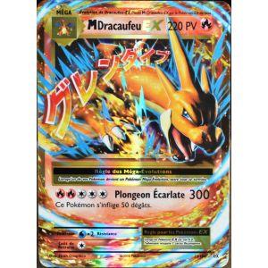 Asmodée Dracaufeu Ex - Carte Pokémon 13/108 Méga 220 Pv Xy Evolutions