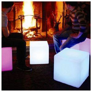Image de Kosilum Cube Lumineux de Jardin à Énergie Solaire 40 cm - Sun - EN SOLDES !