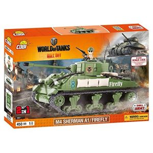 Cobi 3007 - M4 Sherman A1/Firefly 450 pièces