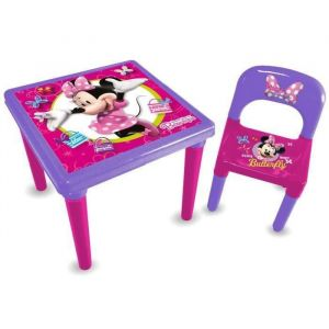 D'arpèje Ensemble table + chaise Minnie