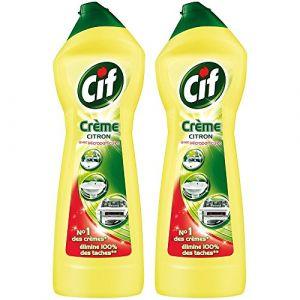 Cif Crème à récurer parfum Citron 750ml