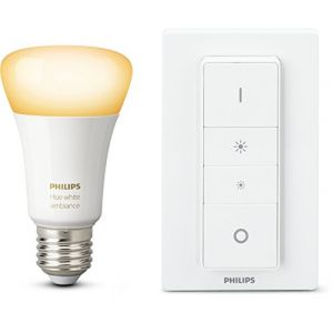 Philips Ampoules connectées HUE White Ambiance E27 + variateur