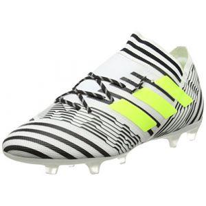Adidas Nemeziz 17.2 FG, Chaussures de Football Homme, Jaune (Footwear White/Solar Yellow/Core Black), 44 EU
