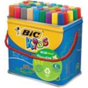 Bic Kids ecolutions Maxi pot de 48 feutres Visacolor XL
