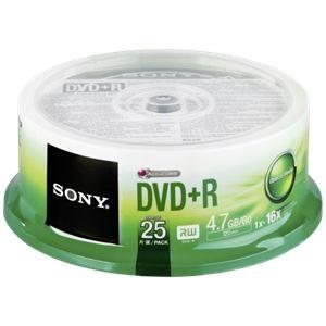 Sony 25DPR47SP - DVD+R 16x spindle de 25 pieces