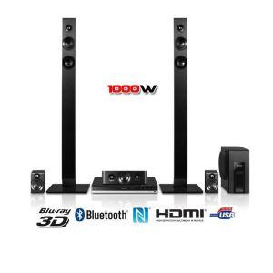 Panasonic SC-BTT465EGK - Ensemble Home Cinema Blu-ray 3D 5.1 Bluetooth et USB