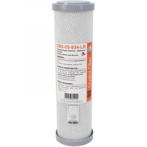 Crystal Filter Cartouche CBS-05-934-LR Super Premium charbon actif 9 3/4 - 5 µm