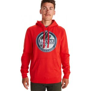 Marmot Sweatshirts Chock - Victory Red - Taille S