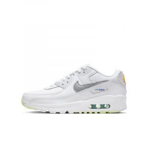 Nike Chaussure Air Max 90 pour Enfant plus âgé - Blanc - Taille 37.5 - Unisex