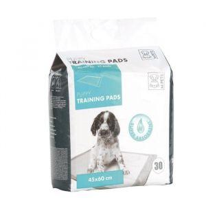 M pets Puppy Training pads - Tapis éducateur pour chiot 30 pièces blanc