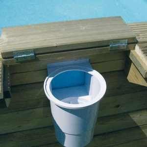 Ubbink Skimmer pour piscine bois
