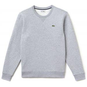 Lacoste Sweat Hommes gris chiné T. XL