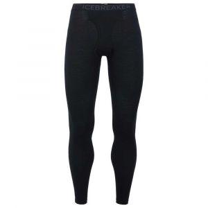 Icebreaker Vêtements intérieurs 200 Oasis Leggings W Fly - Black / Monsoon - Taille L