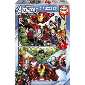 Educa Puzzle Avengers 2 x 48 pièces