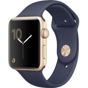 Apple Watch 42mm séries 2 - Montre connectée Boîtier Alu avec Bracelet Sport