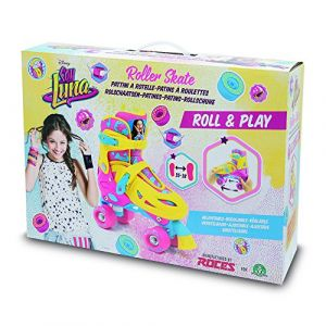 Roces YLU612 - Patins à roulettes Roll & Play Soy Luna (taille 35/38)